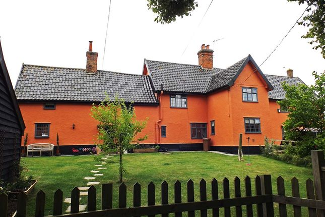 Thumbnail Detached house for sale in Cratfield Road, Fressingfield, Eye