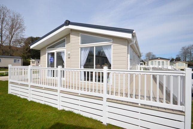 Thumbnail Mobile/park home for sale in Week Lane, Dawlish Warren, Dawlish