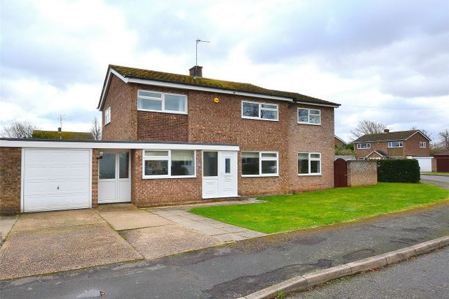 Thumbnail Detached house for sale in Springfield Close, Buckden, St. Neots, Cambridgeshire