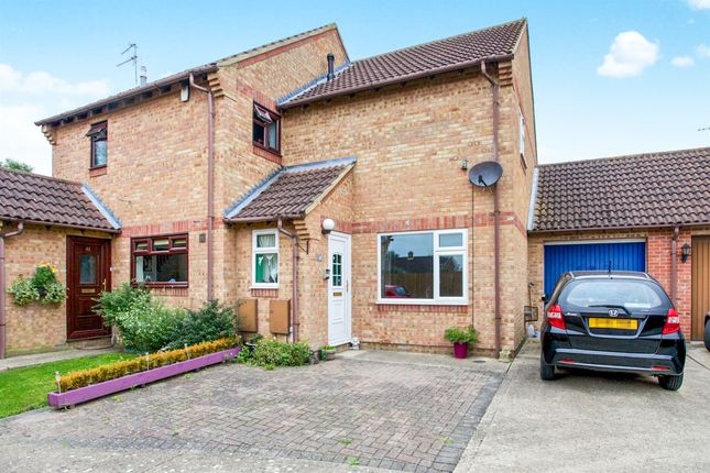 Thumbnail Semi-detached house for sale in Kingsmead Court, Littleport, Ely