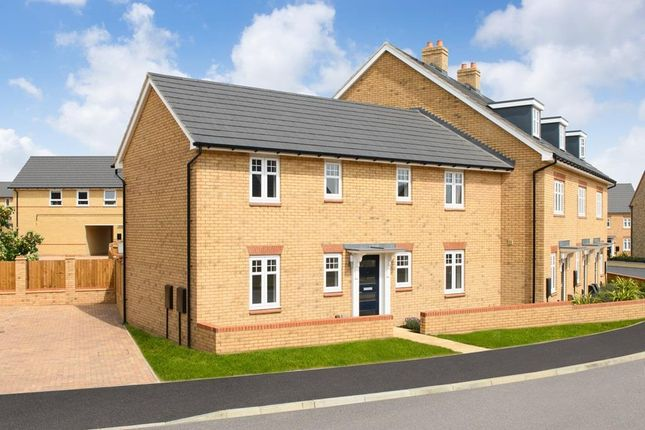 """Thumbnail End terrace house for sale in """"Enford"""" at Southern Cross, Wixams, Bedford"""
