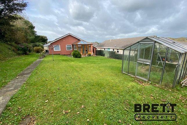 Garden of St Petrox Close, Pembroke, Pembrokeshire. SA71