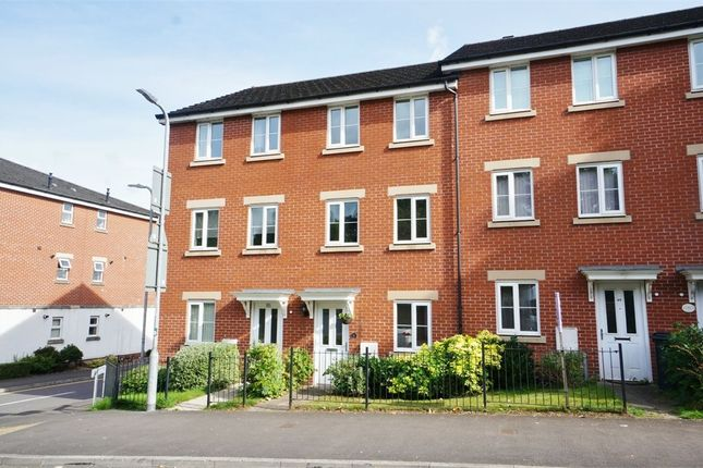 Thumbnail Town house for sale in Roman Way, Caerleon, Newport