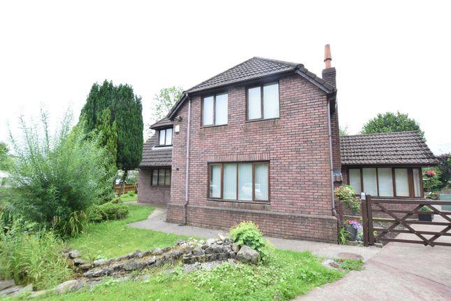 Thumbnail Detached house for sale in Heol-Ddu Lane, Pontllanfraith, Blackwood
