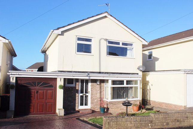 Thumbnail Detached house for sale in Hunter Close, Rogerstone, Newport