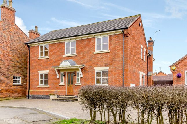 Thumbnail Detached house for sale in Hillmorton, Rugby, Warwickshire