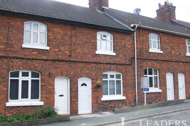 2 bed terraced house to rent in Solvay Road, Winnington CW8