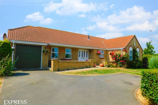 Thumbnail Detached bungalow for sale in Merrills Way, Ingoldmells, Skegness, Lincolnshire