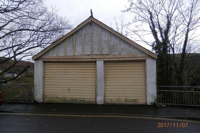 Garages The Parade, Opposite Bryn Coed Bungalow, Porth, Rhondda Cynon Taff. CF39