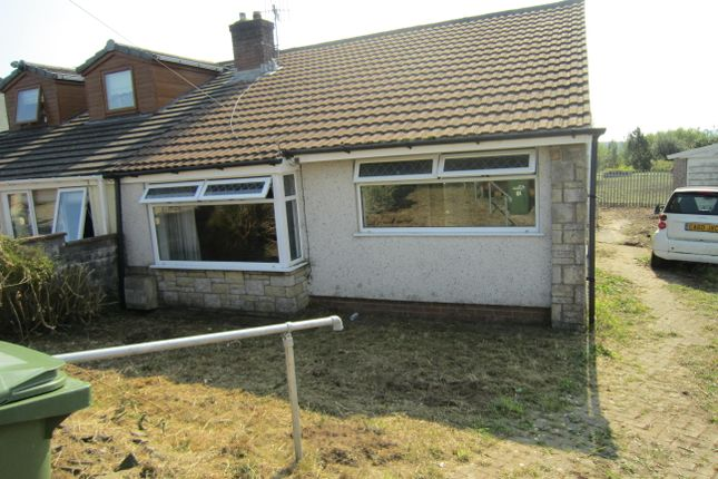 Thumbnail Semi-detached bungalow for sale in Legions Way, Gelligaer