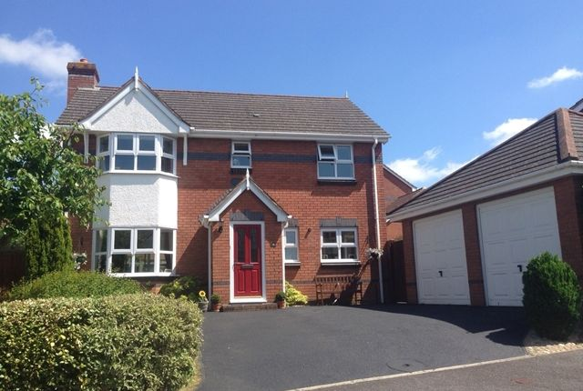 4 bed detached house for sale in Glanvill Way, Honiton