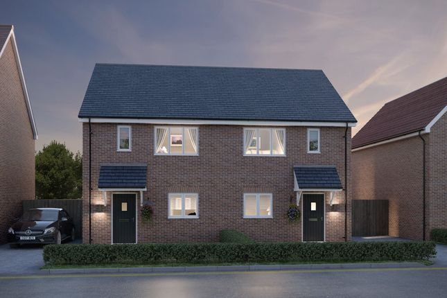 2 bedroom semi-detached house for sale in Off Essex Regiment Way, Chelmsford, Essex
