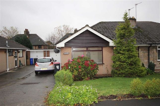 Thumbnail Semi-detached bungalow to rent in Windlehurst Drive, Boothstown, Worsley