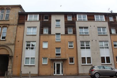 Thumbnail Flat to rent in Napiershall Street, Glasgow