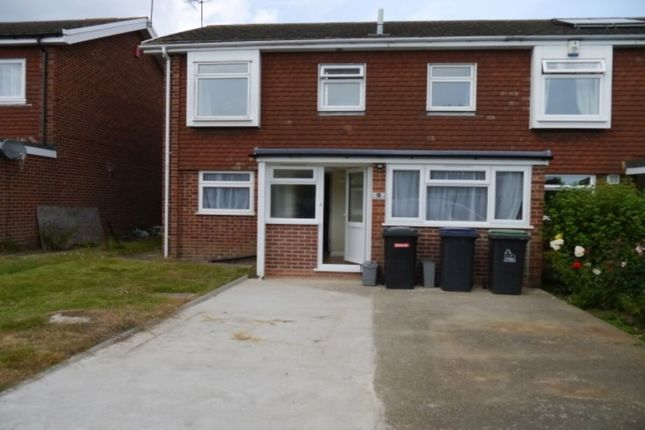 Thumbnail Semi-detached house to rent in Rushmead Close, Canterbury
