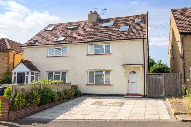 Thumbnail Semi-detached house for sale in Bourne Way, Cheam, Sutton