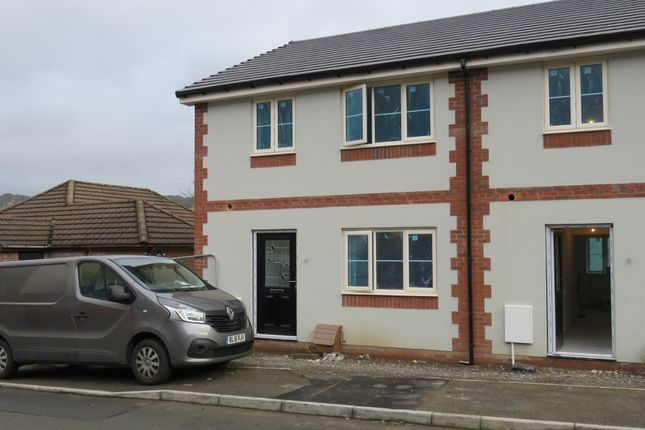 Thumbnail End terrace house for sale in Gelynos Avenue, Argoed, Blackwood
