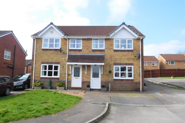 Thumbnail Semi-detached house for sale in Trem Y Castell, Castle View, Caerphilly