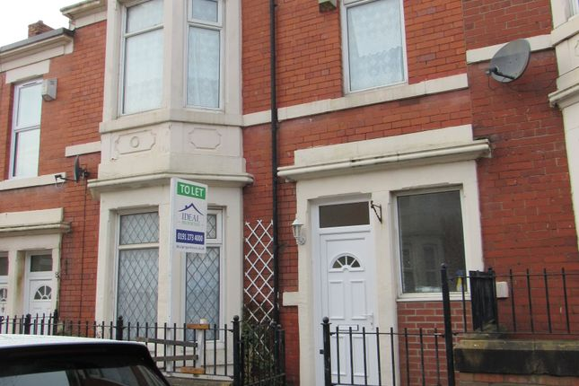 Thumbnail Terraced house to rent in Ellesmere Road, Benwell