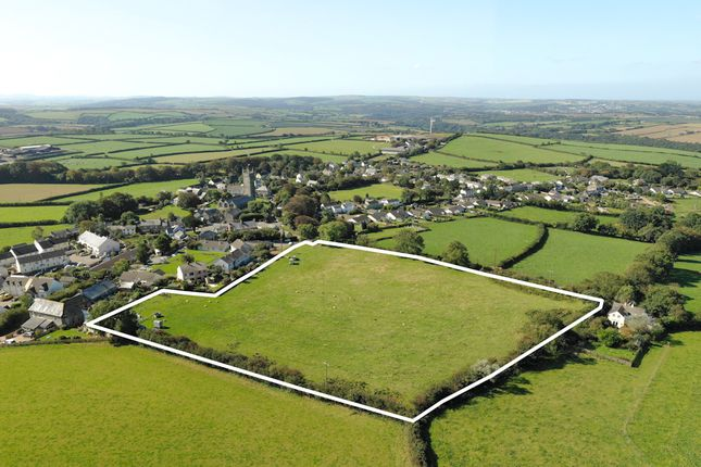 Thumbnail Land for sale in Development Site For 27 Dwellings, St Mabyn, Cornwall
