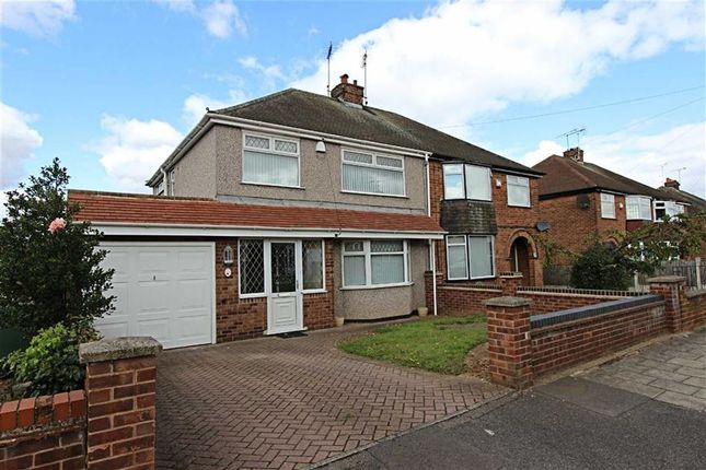 Thumbnail Semi-detached house to rent in Leadale Crescent, Mansfield, Nottinghamshire