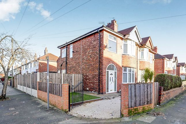 Thumbnail Semi-detached house for sale in Leamington Road, Reddish, Stockport