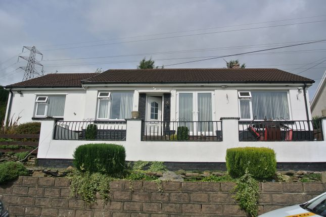 Thumbnail Detached bungalow for sale in Farm Road, Crumlin, Newport