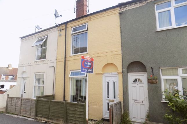 2 bed terraced house for sale in Drudge Road, Gorleston, Great Yarmouth
