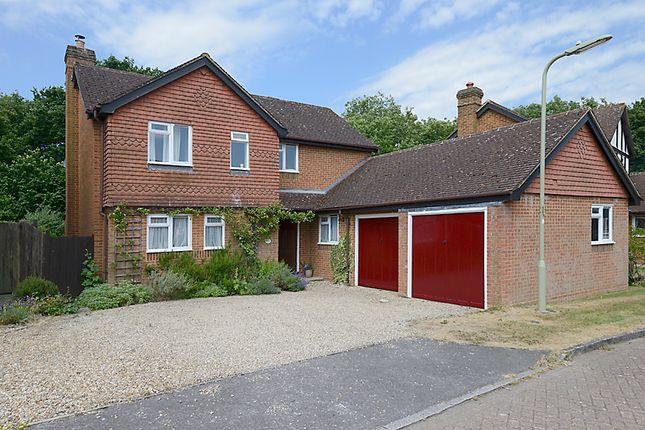 Thumbnail Detached house for sale in Du Maurier Close, Church Crookham, Fleet