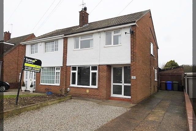 Thumbnail Semi-detached house to rent in Kirkway, Kirkella, East Riding Of Yorkshire