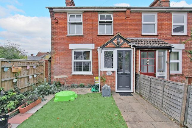 Thumbnail End terrace house to rent in Rack Close, Andover