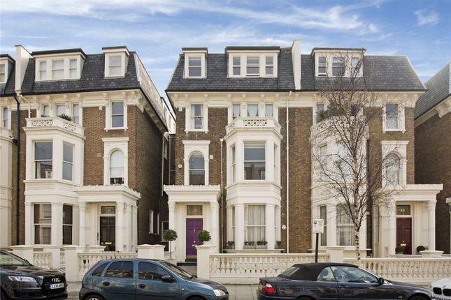 Exterior of Randolph Crescent, Little Venice, London W9