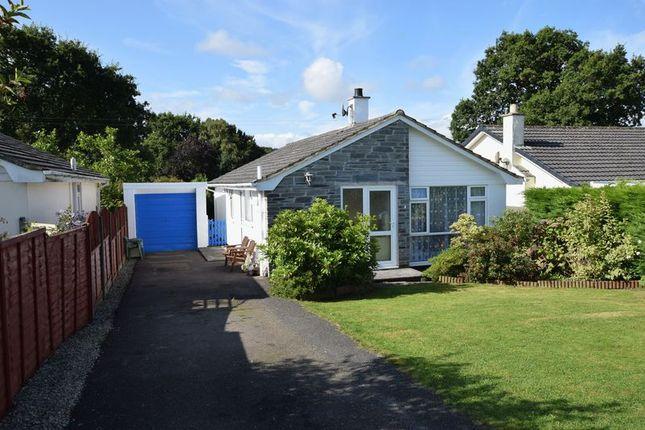 Thumbnail Detached bungalow for sale in Menheniot Crescent, Langore, Launceston