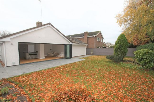 Thumbnail Detached bungalow to rent in Vincent Drive, Chester