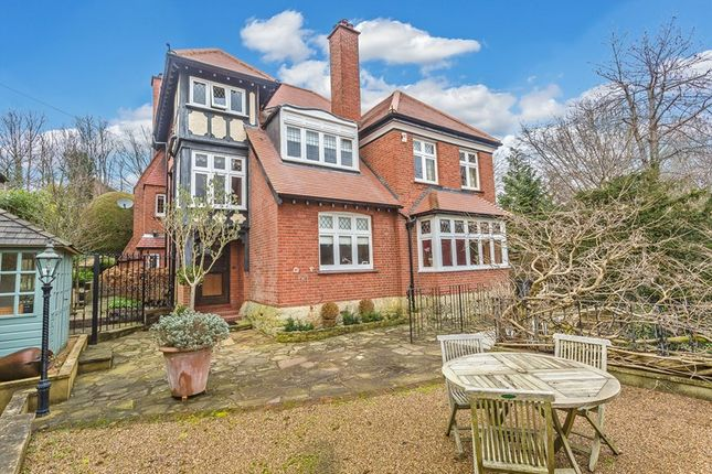 Thumbnail Detached house for sale in Wilderness Road, Oxted