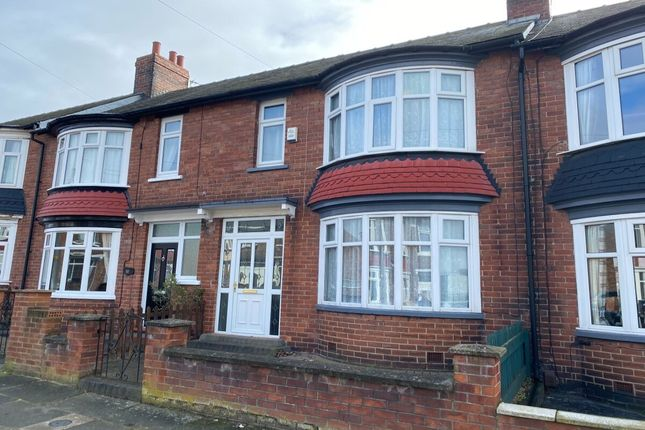 Thumbnail Terraced house for sale in Connaught Road, Middlesbrough