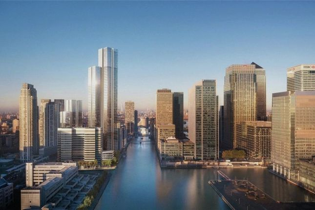 Thumbnail Flat for sale in Valiant Tower, South Quay Plaza, Docklands