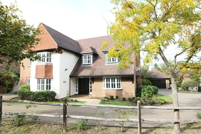 Thumbnail Detached house for sale in Nursery Gardens, Goffs Oak, Hertfordshire