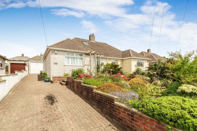 Thumbnail Semi-detached bungalow for sale in Vicarage Gardens, St Budeaux, Plymouth