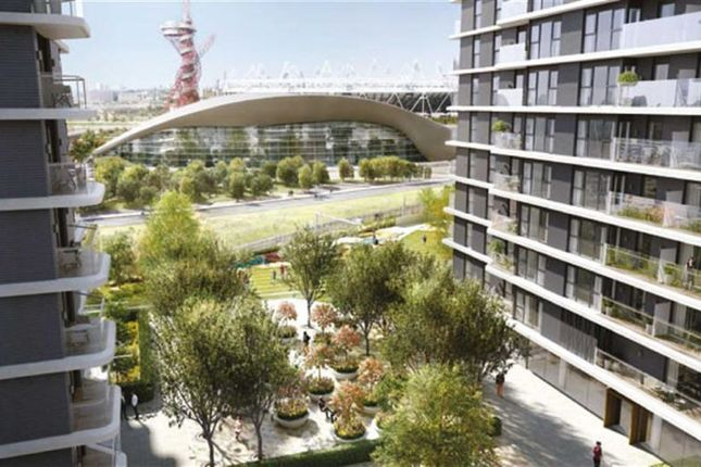 Thumbnail Flat for sale in West Tower, Stratford, London