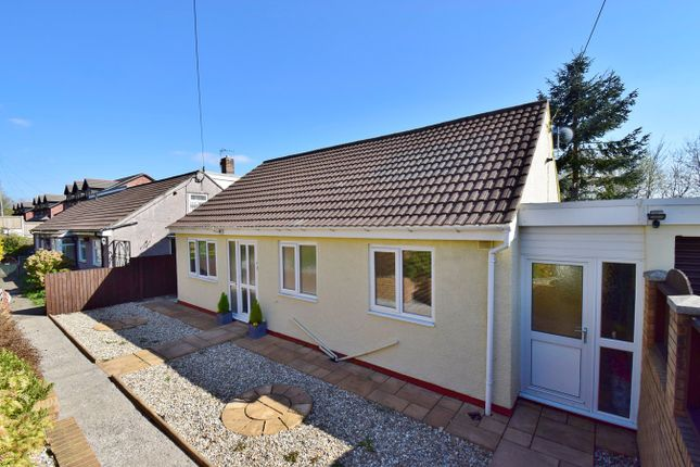 Thumbnail Detached bungalow for sale in Felinfach, Bedwas, Caerphilly