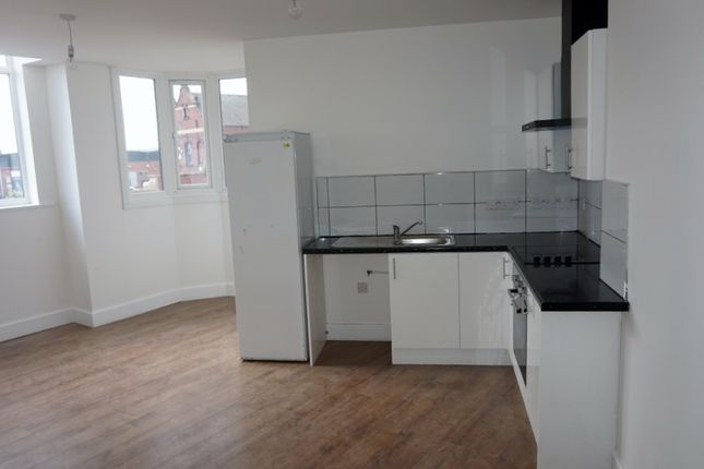 Thumbnail Flat to rent in 15 Great Central Street, Leicester, 4Jt