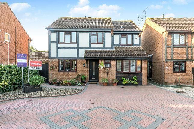 Thumbnail Detached house for sale in Wood Piece Close, Wall Meadow, Worcester