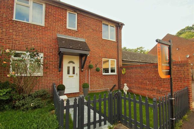 Thumbnail End terrace house for sale in Cleveland Close, Highwoods, Colchester