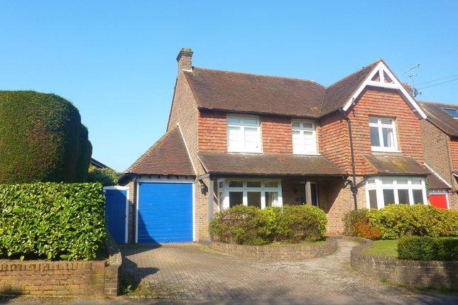 Thumbnail Detached house to rent in Smoke Lane, Reigate, Surrey