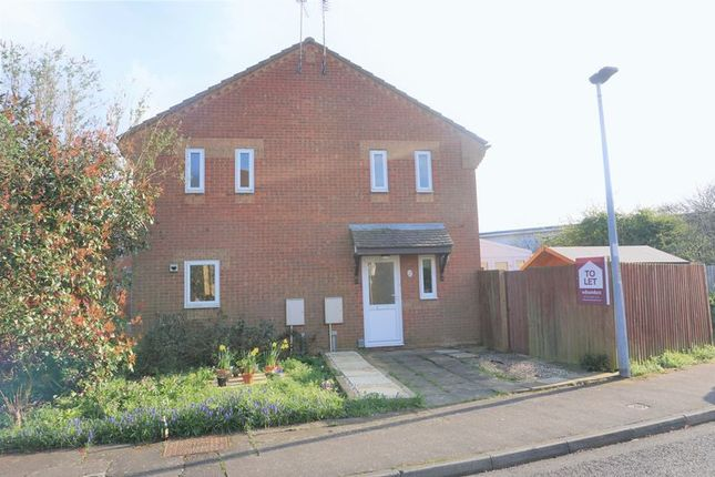 Thumbnail Terraced house to rent in Albany Walk, Peterborough