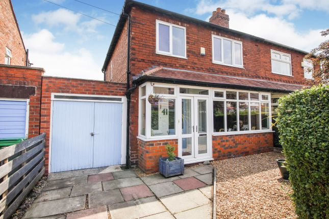 Thumbnail Semi-detached house for sale in Daventry Road, Chorlton Cum Hardy, Manchester