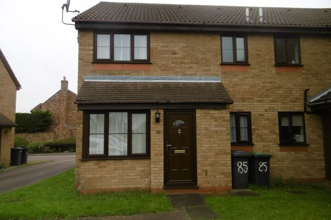 Thumbnail Terraced house to rent in Bunyan Road, Biggleswade