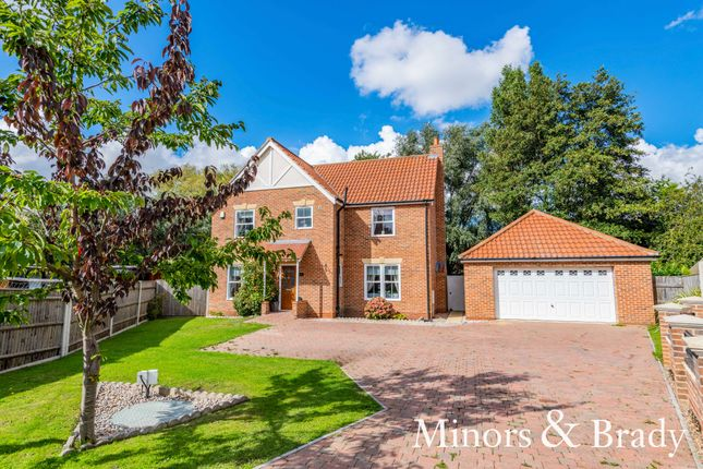 Thumbnail Detached house for sale in Lyndhurst Close, Gorleston, Great Yarmouth