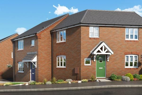 "Thumbnail Property for sale in ""The Mulberry At Mill Farm, Tibshelf"" at Mansfield Road, Tibshelf, Alfreton"